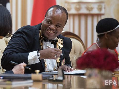 Последний абсолютный монарх Африки переименовал Свазиленд