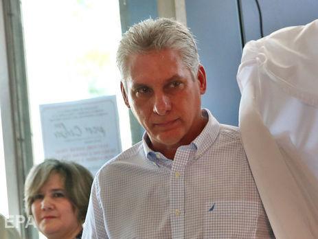 У Держдепі розкритикували владу Куби за те, що нового президента призначив парламент, а не обрали всі громадяни країни під час виборів