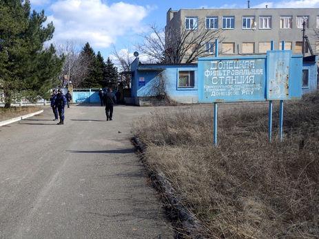 Работа Донецкой фильтровальной станции остановлена