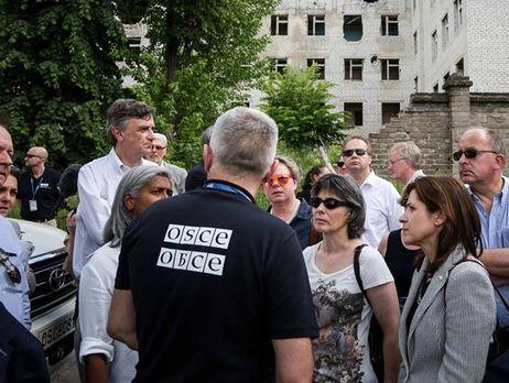 Патруль ОБСЕ приехал в Енакиево