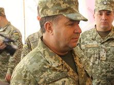 Полторак сообщил, что Минобороны уже подготовило органы военного управления, которые будут работать на Донбассе после завершения АТО