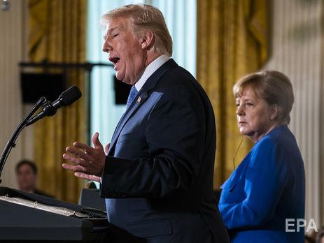 ВТП: Меркель защитит германский бизнес вРФ отТрампа