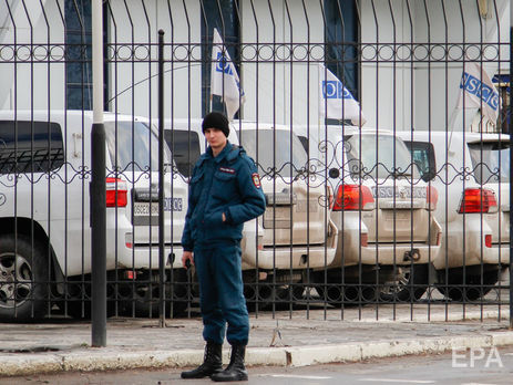 Патруль ОБСЕ остановили в районе Горловки
