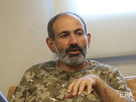Лидер протестов вАрмении провел переговоры спрезидентом