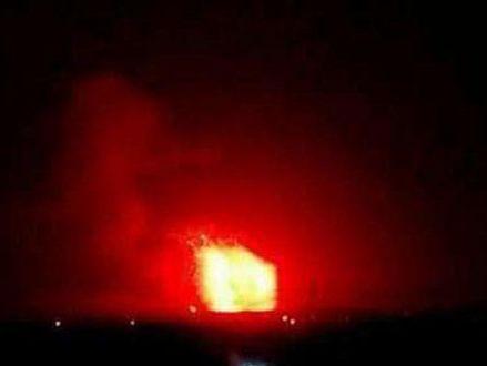 Ракетного удару нібито завдали увечері 29 квітня