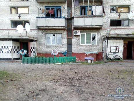 Поліція показала наслідки обстрілу Майорська