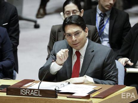 Ізраїль вибув із боротьби зачленство вРадбезі ООН