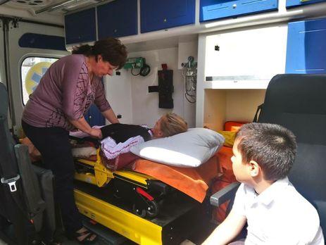 11 пострадавших детей в Черкассах остаются в реанимации в состоянии средней тяжести