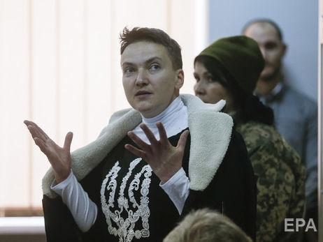Надежда Савченко требует допустить еена совещания Рады