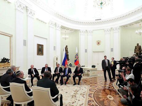 Переговори Путіна і Нетаньяху пройшли 9 травня в Москві