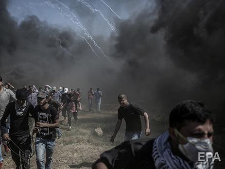 Сообщается о 59 жертвах протестов в секторе Газа