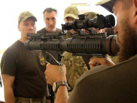 Аваков повідомив, що Нацгвардія взяла на озброєння перші 500 американських протитанкових гранатометів RSRL-1