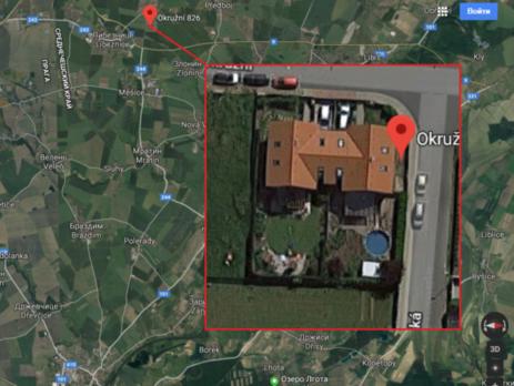 Дом в общине Башть также принадлежит мужу и родственнику Ретизник