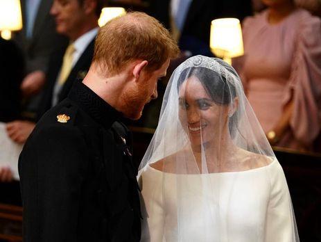 Гарри и Меган стали мужем и женой