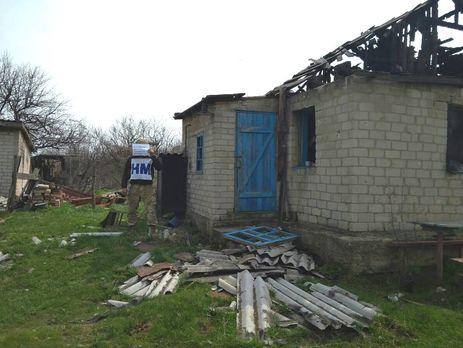Дитбудинок і житлові будинки вТорецьку потрапили під обстріл