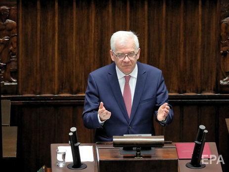 ВМИД Польши призвали генерального секретаря НАТО вмешаться вспор Венгрии с государством Украина