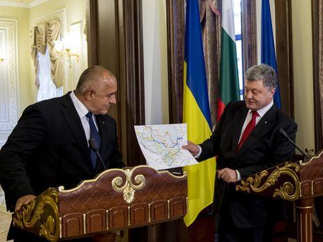 Порошенко и премьер Болгарии договорились о строительстве дороги из Одессы в Варну