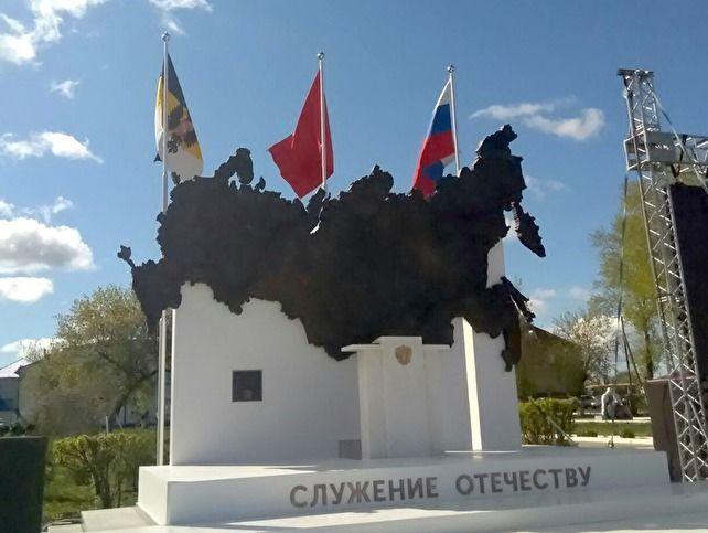 b402d5bb1875 В селе Частоозерье Курганской области (Россия) торжественно открыли памятник