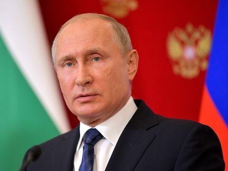 """Путін: Зараз активно дискутують щодо питання будівництва """"Північного потоку 2"""""""