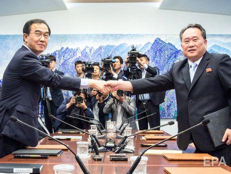 Північна і Південна Кореї погодилися провести переговори щодо військових питань