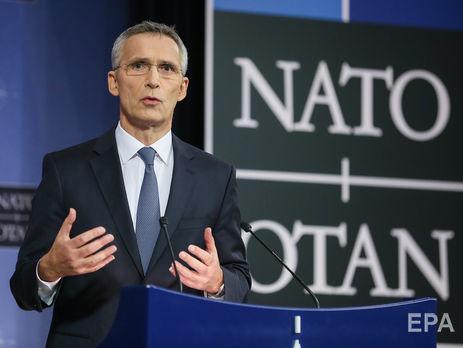 Столтенберг подчеркнул, что Израиль партнер НАТО, а не член