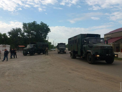 """""""Думская"""" пишет, что в Цебриково прибыли бойцы Нацгвардии"""