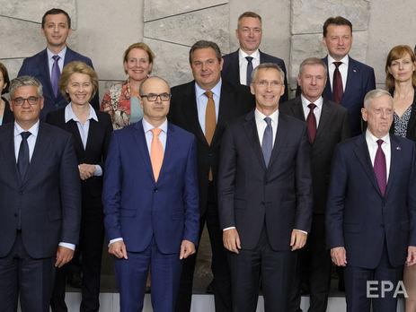 Министры обороны стран НАТО провели встречу в Брюсселе