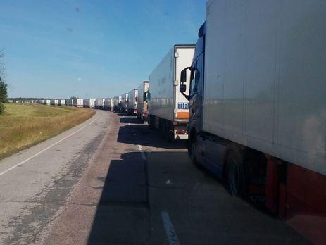 Госпогранслужба: таможенники РФнепропускают украинские авто