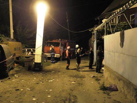 На місце вибуху прибуло 19 осіб особового складу та чотири одиниці спеціальної техніки