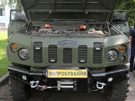 """Военные хотят установить на бронеавтомобиль """"Новатор"""" противотанковые комплексы"""