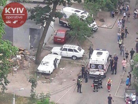 У Києві вибухнув автомобіль, постраждало четверо дітей – ЗМІ