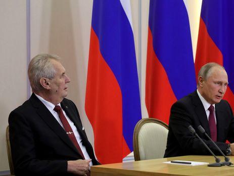 Земан считает себя другом Путина