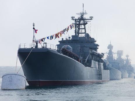 Черноморский флот привели вбоеготовность, Российская Федерация опровергает