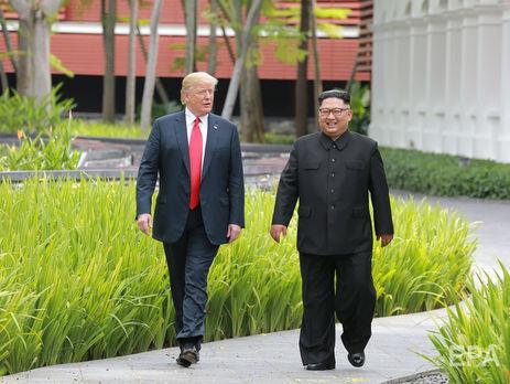 Трамп иКим Чен Ындоговорились овзаимных визитах