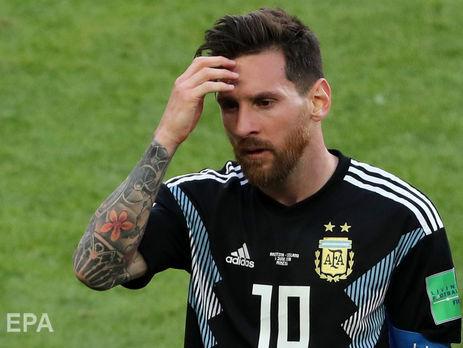 Мессі знову не зміг забити на чемпіонаті світу