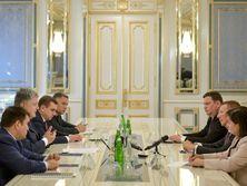 Глава МИД Латвии на встрече с Порошенко отметил важность международной кампании с целью освобождения украинских политзаключенных в РФ