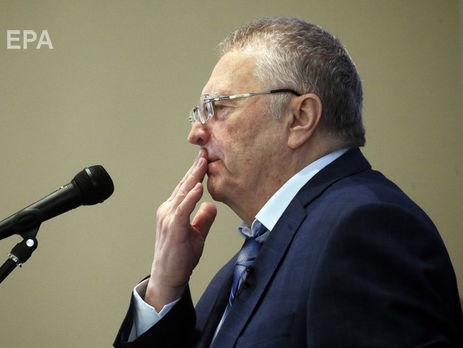 Жириновский: Ни в какие сношения не нужно вступать ни в международные, ни в какие-то другие