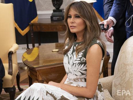 18 июня стало известно, что Меланья подвергла критике иммиграционную политику мужа