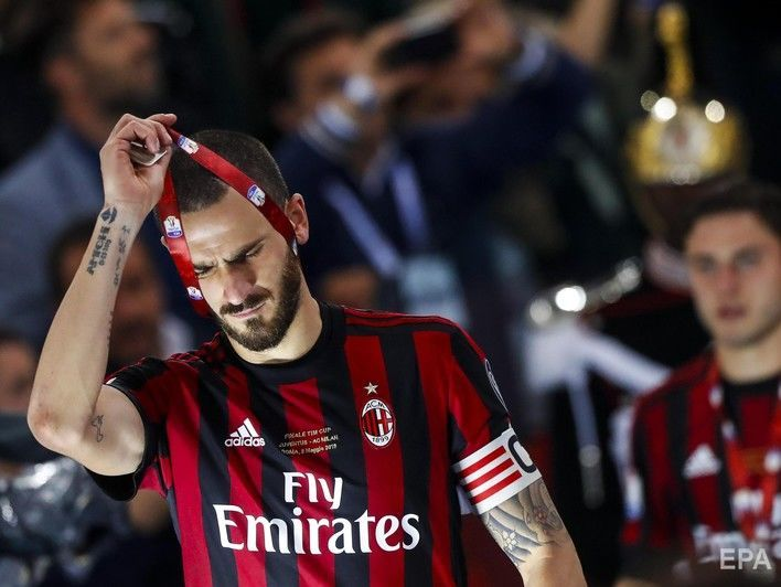 Решение отстранить итальянский футбольный клуб