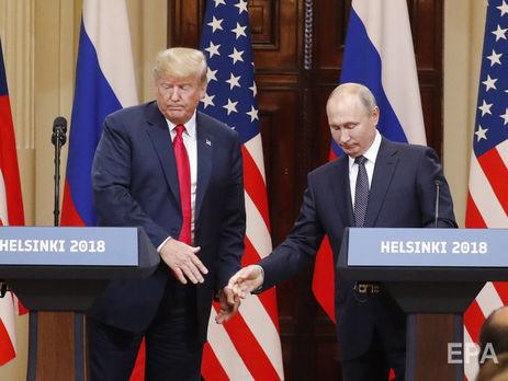 Источники Bloomberg рассказали, что Путин предложил Трампу обдумать идею референдума на востоке Украины