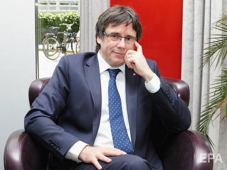Верховный суд Испании решил отозвать европейский ордер наарест Пучдемона