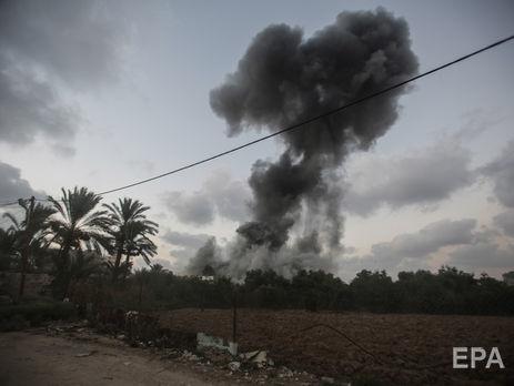 Авиация Израиля нанесла удары еще по25 объектам ХАМАС всекторе Газа