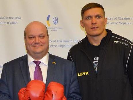 Гройсман предложит Порошенко присвоить боксеру Усику звание Героя Украины