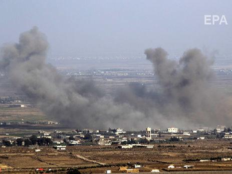 Самолеты коалиции нанесли удар помирным жителям навостоке Сирии
