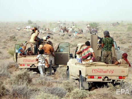 Бои коалиции с хуситами идут в районе Ходейды