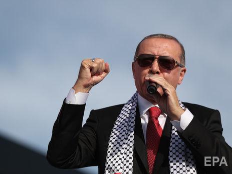Эрдоган обвинил лидера Израиля врасизме исравнил сГитлером
