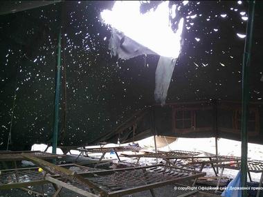 Лагерь пограничников обстреляли из восьми минометов