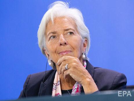 Лагард: Приємно дізнатися, що США і ЄС домовилися про спільну роботу щодо скорочення торгових бар'єрів