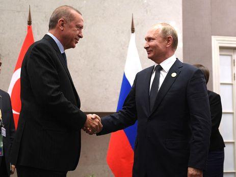 Ердоган і Путін пожартували про економічні відносини своїх країн