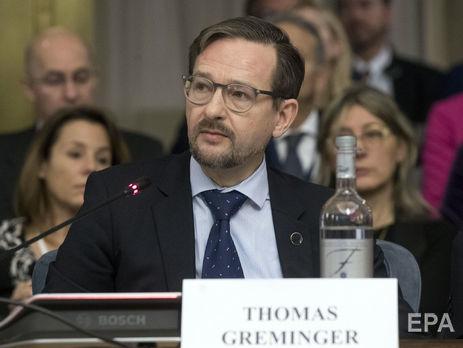 Гремінгер: Росія є країною-учасницею і має право на своє представництво тут